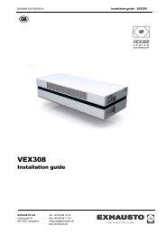 1. VEX308 - Package contents - exhausto.de