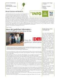 ST-INFO 10/2006 - Förderverein Region Halle (Saale)