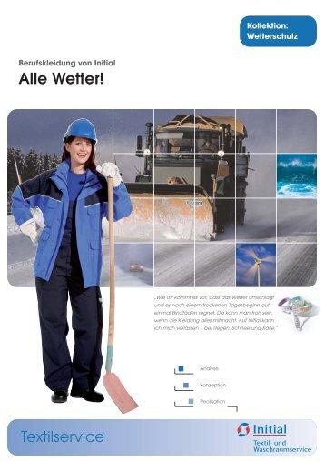 Wetterschutz - Initial Textil