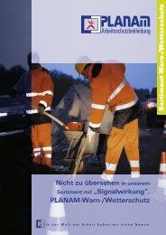 PLANAM-Warn-/Wetterschutz - Marlene Enkirch GmbH
