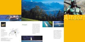 Freizeit - Tourist Info Uri