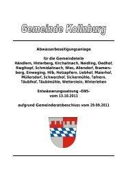 (Stammsatzung) Allersdorf/Kirchaitnach - Kollnburg