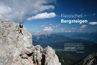 Klassisches Bergsteigen - München und Oberland