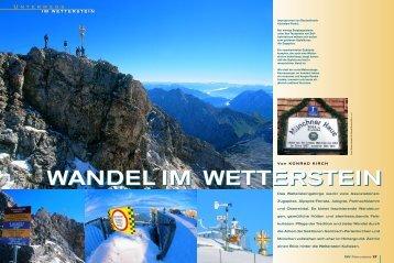 Wandel im Wetterstein - Deutscher Alpenverein