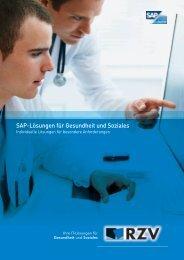 SAP-Lösungen für Gesundheit und Soziales - RZV Rechenzentrum ...