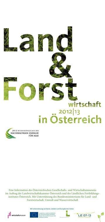 Land- und Forstwirtschaft in Österreich 2 - und Wirtschaftsmuseum