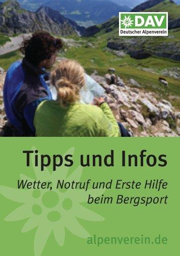 Tipps und Infos - Deutscher Alpenverein