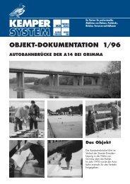OBJEKT-DOKUMENTATION 1/96 - KEMPER SYSTEM