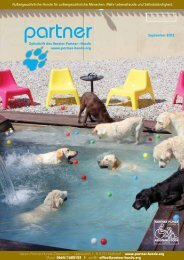 Die aktuelle Ausgabe herunterladen - Partner-Hunde Österreich