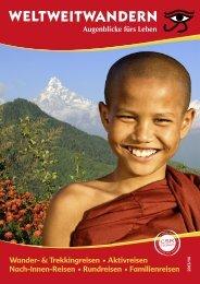 Wander- & Trekkingreisen • Aktivreisen Nach ... - Weltweitwandern