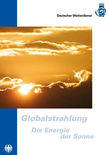 Globalstrahlung - Energie der Sonne - Schmidt Solarstrom GmbH