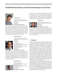 Geodateninfrastrukturen und ihre Anwendungen in der Praxis