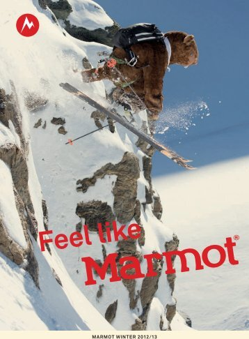 Marmot Produkte Winter 2012/13