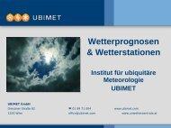 Wetterprognosen & Wetterstationen - DIE österreichische Schnei ...