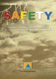 Safety Ratgeber Wetterbedingte Naturgefahren (pdf)