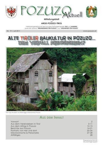 Zeitung Pozuzo Aktuell Juli 2011 hier lesen und