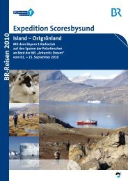 Expedition Scoresbysund - Bayern 1 Radioclub