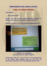 Bodensee Bulletin Nr. 042 - Montag, 6. Juni 2011 ... - big-max-web.de
