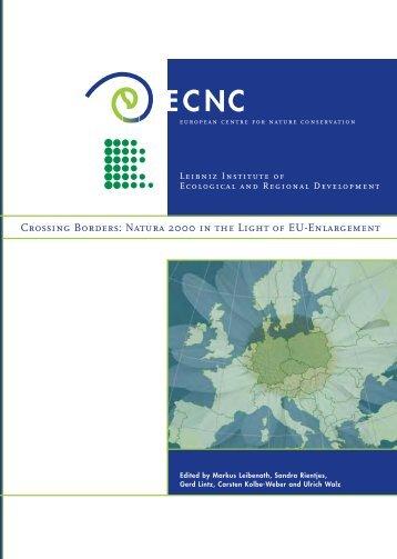 Crossing Borders: Natura 2000 in the Light of EU ... - ECNC