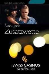 Zusatzwette - Swiss Casinos