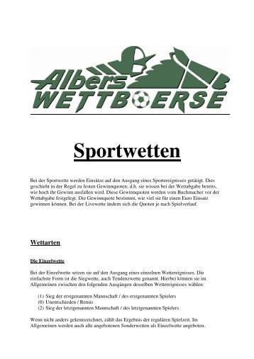 Albers Sportwetten