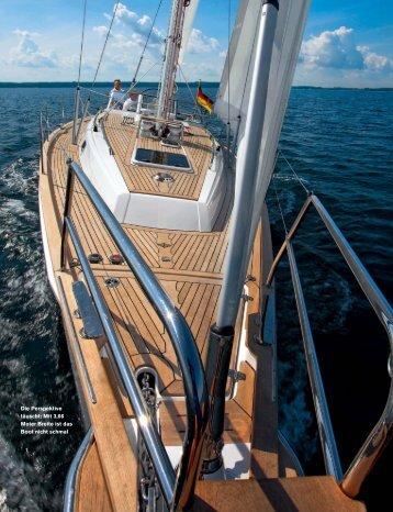 Die Perspektive täuscht: Mit 3,66 Meter Breite ist das ... - Blue Ocean