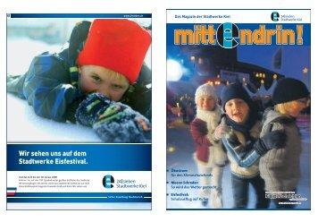 Ausgabe Dezember 2007 - Stadtwerke Kiel