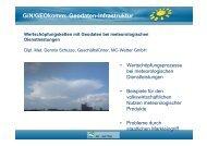 GiN/GEOkomm: Geodaten-Infrastruktur