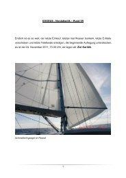 EXODUS : Nordatlantik – Rund VII Endlich ist es so weit - Sirius-Werft