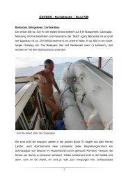 EXODUS : Nordatlantik – Rund VIII - Sirius-Werft
