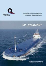 """MS """"TELAMON"""" - Finanz- und Wirtschaftskanzlei André Tonn GmbH"""