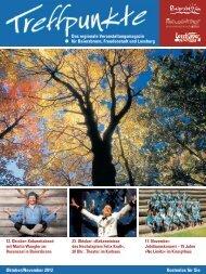 Oktober/November 2012 Kostenlos für Sie - Ferien in Freudenstadt