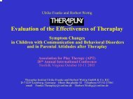 Evaluation of the Effectiveness of Theraplay