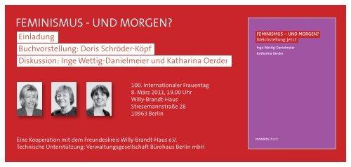 Download PDF Einladung - vorwärts|buch