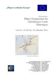 Pilger-Symposium im Altenburger Land Thüringen - Kirchgemeinde ...