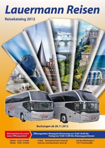Preis - Lauermann Reisen