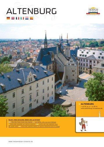 ALTENBURG ALTENBURG - Thüringer Städte