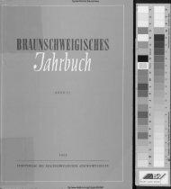 bra unschwei g isches jahrbuch - Digitale Bibliothek Braunschweig