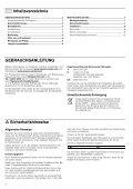 Gebrauchsanleitung - Moebelplus GmbH - Seite 2