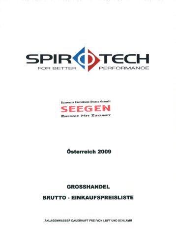 SPIR 1D TECH - Seegen