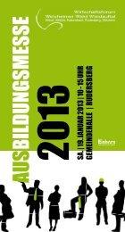 SA.   19. JANUAR 2013   10 - 15 UHR GEMEINDEHALLE   RUDERSBERG ...