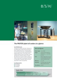 The PROTOS plant oil cooker at a glance - BioEnergy Discussion Lists