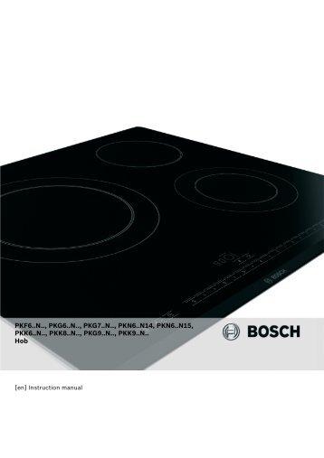 PKF6..N.., PKG6..N.., PKG7..N.., PKN6..N14 - Appliances Online
