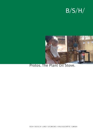 Protos, the Plant Oil Stove [PDF] - BioEnergy Discussion Lists