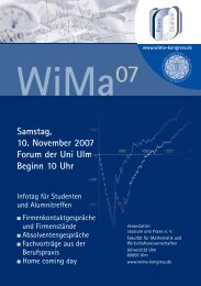 WiMa 07 Kongress-Broschüre - Logo