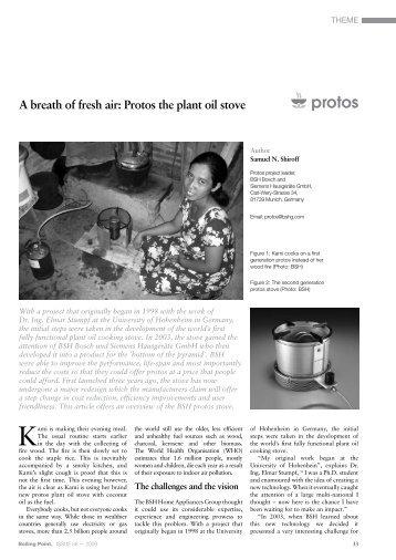 Protos the plant oil stove.pdf - India Environment Portal