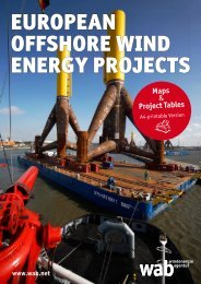 EUROPEAN OFFSHORE WIND ENERGY PROJECTS