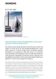 SPI 17-1031-0506 Kraftvolle Eleganz: Siemens Dampfbügeleisen ...