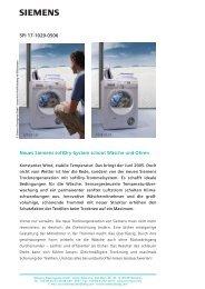 SPI 17-1029-0506 Neues Siemens softDry-System schont Wäsche ...