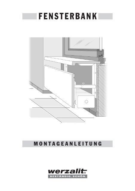 Werzalit Fensterbänke Montageanleitung - GOTTRON + ...